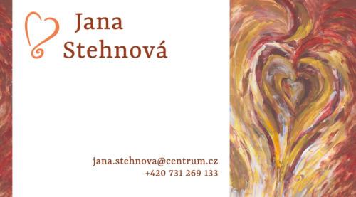 vizitka Jana Stehnová